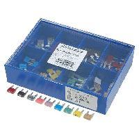 Fusibles pour auto ATO Mini Kit 80 fusibles Mini 23457.51015202530A