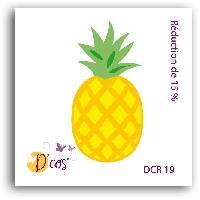 Gabarit De Decoupe Die Ananas