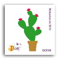 Gabarit De Decoupe Die Cactus