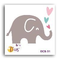 Gabarit De Decoupe Die Elephant