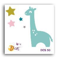 Gabarit De Decoupe Die Girafe