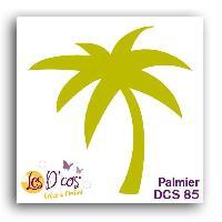 Gabarit De Decoupe Die Palmier - Jaune