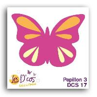 Gabarit De Decoupe Die Papillon 3