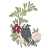 Gabarit De Decoupe Matrice de decoupe Thinlits - Oiseau chanteur par Debi Potter