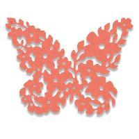 Gabarit De Decoupe Matrice de decoupe Thinlits - Papillon fleuri par Debi Potter