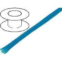 Gaine pour cables 100m gaine polyester tresse 37 4mm bleu - ADNAuto