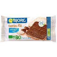 Galettes Riz - Mais - Ble Fines Galettes de Riz Chocolat Lait Bio 90g