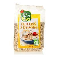 Galettes Riz - Mais - Ble Flocons 5 cereales 500 g