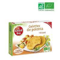 Galettes Riz - Mais - Ble Galettes polenta nature bio - 160 g
