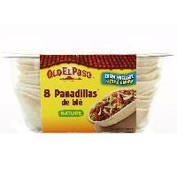 Galettes Riz - Mais - Ble OLD EL PASO Panadillas de ble - 193 g