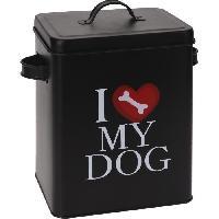Gamelle - Ecuelle - Accessoire Boite aliment pour chien 18x15x23 cm 490 g