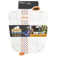 Gamelle - Ecuelle - Accessoire Gamelle pliable Crock-Trotter - Blanc - Pour chien