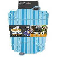 Gamelle - Ecuelle - Accessoire Gamelle pliable Crock-Trotter - Bleu - Pour chien