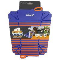 Gamelle - Ecuelle - Accessoire Gamelle pliable Crock -Trotter - Bleu et orange- Pour chien