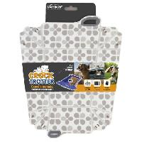 Gamelle - Ecuelle - Accessoire Gamelle pliable Crock-Trotter - Gris - Pour chien