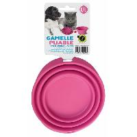 Gamelle - Ecuelle - Accessoire Gamelle pliable en silicone - 700 ml - Pour chien et chat