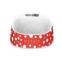 Gamelle - Ecuelle - Accessoire PETKIT Gamelle avec balance - Design polka - Pour chien et chat Generique