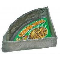 Gamelle - Ecuelle - Accessoire ZOOMED Gamelle d'angle - XL - Pour reptile