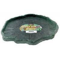 Gamelle - Ecuelle - Accessoire ZOOMED Mangeoire basse - XL - Pour reptile et amphibien