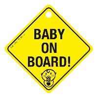 Gamme enfant Baby On Board avec ventouse - 17x17cm RaceSport