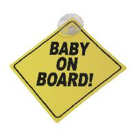 Gamme enfant Plaque -Baby on board!-
