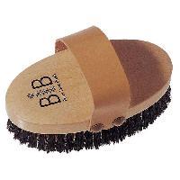 Gant - Brosse De Massage - Gommage - Peeling GERSON  Brosse a bain - Poils crin et cuivre