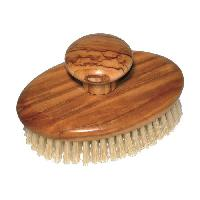 Gant - Brosse De Massage - Gommage - Peeling GERSON Brosse de massage - Bois d'olivier - Poils soie