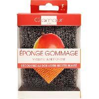 Gant - Brosse De Massage - Gommage - Peeling GLAMOUR SPA - EPONGE 2 FACES POUR UN GOMMAGE LEGER - 12 x 8 cm - Aucune