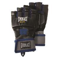 Gant - Mitaine De Sport De Combat EVERLAST Gants d'entrainement Cardio - Homme - Bleu - Taille L-XL - Wilson