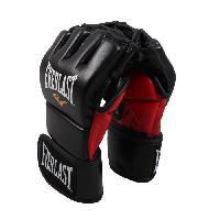Gant - Mitaine De Sport De Combat EVERLAST Gants d'entrainement de MMA - Noir mat - Tailles L-XL - Wilson