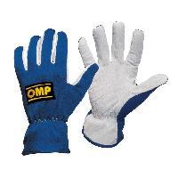 Gants - Sous-gants Gants pilote -New Rally- Bleu - Taille M - OMP