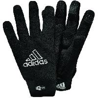 Gants De Gardien De Football ADIDAS Gants de gardien de football Player Field - Mixte - Noir et blanc - 9