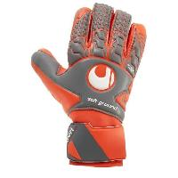 Gants De Gardien De Football UHLSPORT Gants de gardien de but de football Aerored Soft HN - 10 XL