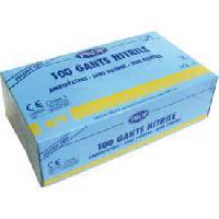 Gants de protection 100 gants nitrile Taille 89