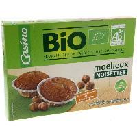 Gateau Patissier Mini moelleux noisettes - Bio - 200g