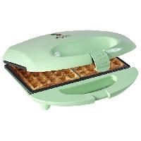 Gaufrier BESTRON ASW401 Gaufrier électrique - Vert Pastel