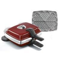 Gaufrier LAGRANGE 039511 Gaufrier électrique Super 2 - Rouge