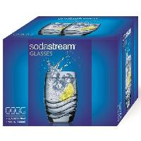 Gazeificateur - Machine A Sodas SODASTREAM 30000153 Lot de 4 verres