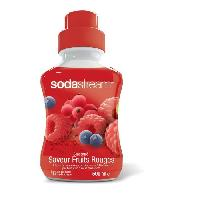 Gazeificateur - Machine A Sodas SODASTREAM Concentre Fruits Rouges 500 ml