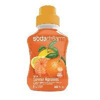 Gazeificateur - Machine A Sodas SODASTREAM Concentré Saveur agrumes 500ml