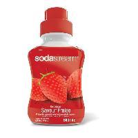 Gazeificateur - Machine A Sodas SODASTREAM Concentré Saveur fraise 500 ml