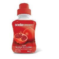 Gazeificateur - Machine A Sodas SODASTREAM Concentre Saveur grenadine 500 ml