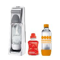 Gazeificateur - Machine A Sodas SODASTREAM Pack - Machine a gazeifier Cool Titan + 1 concentre cola 500ml + 1 bouteille Grand modele Pet