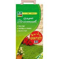 Gazon Naturel LE PAYSAN Universel Offre spéciale - 4 kg + 1 kg gratuit Aucune