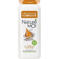 Gel De Douche Et Bain - Creme De Douche Et Bain Creme douche nourrissante Nature moi Caramel BIO de Bretagne - 400 ml