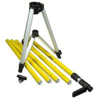 General (trepied - Support - Mire) STANLEY Canne télescopique Tripole 3.60m