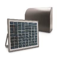 Genie Thermique - Climatique - Chauffage AVIDSEN Kit d'alimentation solaire - 24 V