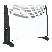 Genie Thermique - Climatique - Chauffage BLACK PEAR 2000 watts Chauffage convecteur - Aucune