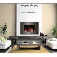 Genie Thermique - Climatique - Chauffage CARRERA Luna 1800 watts Cheminée électrique décorative et chauffage d'appoint