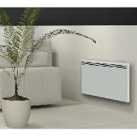 Genie Thermique - Climatique - Chauffage CARRERA New Moala 1000 watts Radiateur électrique a inertie céramique + Film chauffant - Chaleur Douce - Programmation LCD